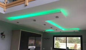 Ambiance éclairage spots LED